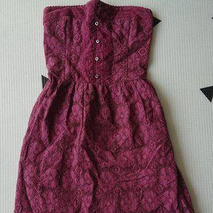 Abercrombie Lace Purple Dress